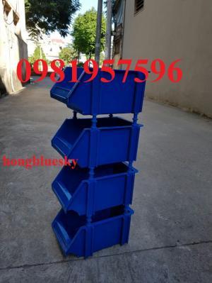 Khay nhựa, khay đựng linh kiện, khay nhựa xếp chồng giá tốt