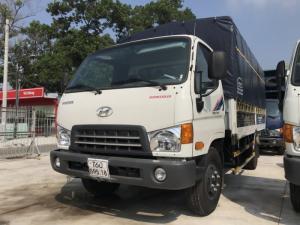 Giá xe tải Hyundai Mighty 8 tấn thùng mui bạt, trả trước 100 triệu, có xe giao luôn tại Hyundai Vũ Hùng