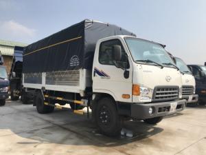 Giá xe tải Hyundai Mighty 8 tấn thùng mui...