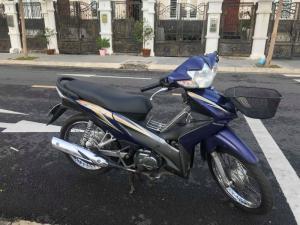 Xe wave S110 màu xanh BSTP zing nguyên, màu xanh