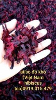 1kg atiso đỏ khô_hibiscus khô