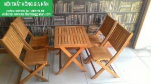 Chuyên sản xuất bàn ghế cafe giá rẻ nhất hgh6