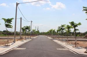 Đất Nền 5x16m 100% thổ cư,mặt tiền 30m Xã Hòa...