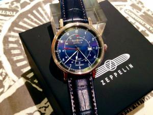 Đồng hồ nam Zeppelin 7546-3 Swiss Quartz GMT