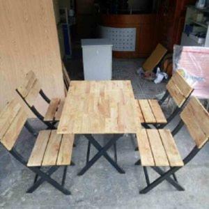 Ghế gỗ quán nhậu giá rẻ hgh7
