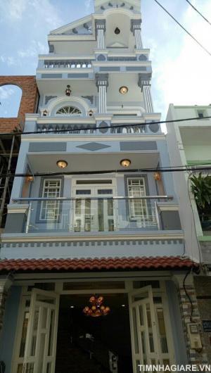 Bán nhà đường Nguyễn Thị Hương, Nhà Bè, Tp.HCM, DT 150m2, nhà phố 3 tầng, 4PN , hẻm 6m