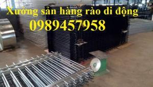 Sản xuất hàng rào di động, hàng rào bảo vệ biệt thự, hàng rào khu công nghiệp giá rẻ nhất Hà Nội
