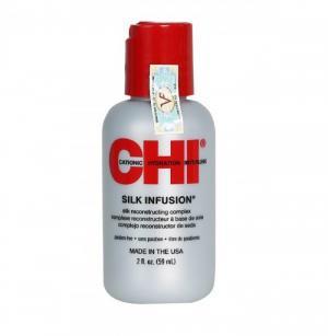 Tinh Dầu Chi Silk Infusion Oil Dưỡng Tóc Mềm Mượt 59ml