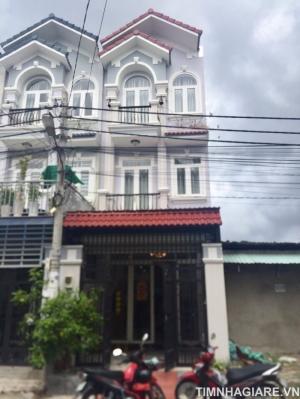 Nhà mới đường Đào Tông Nguyên, Phú Xuân, Nhà Bè, DT 192m2, 2 lầu đúc, 4PN