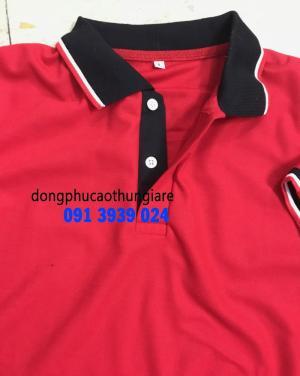 Áo thun màu đỏ. áo thun có sẵn giá rẻ, in áo thun số lượng ít