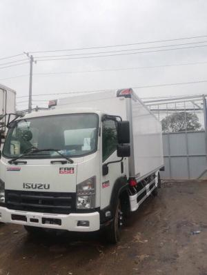 Bán xe tải isuzu FRR 6 tấn 2 thùng bảo ôn