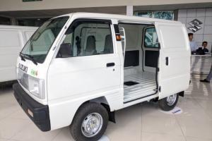 Bán xe tải suzuki van hỗ trợ trả góp qua ngân hàng cao