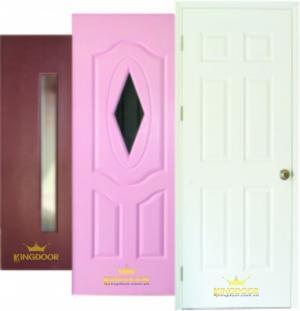 Cửa gỗ hdf, cửa phòng ngủ, cửa hdf sơn màu (