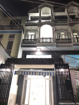 Bán nhà hẻm 1979 Huỳnh Tấn Phát, Thị trấn Nhà Bè, DT 4m x 16m, nhà phố 2 lầu đúc, 4PN, sân thượng