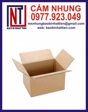 Chuyên cung cấp thùng carton, Bao bì carton in flexo giá rẻ