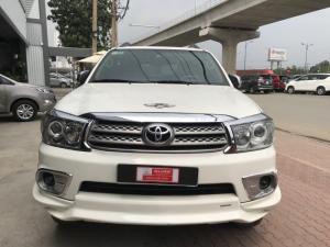 Bán xe Fortuner Sportivo sản xuất 2011 màu trắng, giảm ngay 30 tr cho KH thiện chí mua