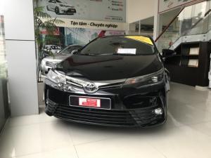 Bán xe Altis 2.0V Luxury sản xuất 2018 màu đen, siêu lướt 2.300 km, giảm ngay 30tr