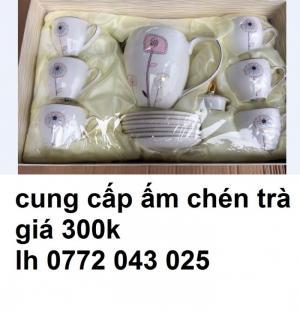 bán ấm chén trà cao cấp làm quà tặng tết