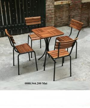 Thanh lý bàn ghế cafe giá rẻ tpHCM, thanh lý bàn ghế trà sữa Fansipan-mn12