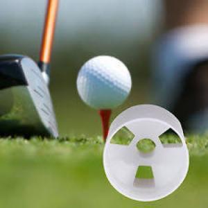 Lỗ golf nhựa cao 10cm màu trắng