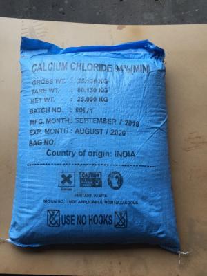 Khoáng nguyên liệu Canxi Clorua CaCl2 dùng trong nuôi trồng thủy sản
