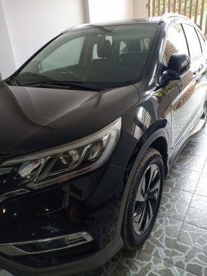 Bán Honda CRV 2.4AT màu đen VIP số tự động sản xuất cuối 2014 mẫu 2015 biển Sài Gòn
