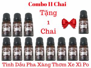 Combo 11 Tinh Dầu Pha Xăng Thơm Cho Xe Xì Po - MSN388380