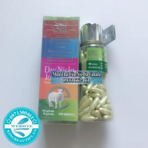 (SPF/15) Nhau Thai Cừu 5 Loại Bill Natural Sources, Set 10 Viên Nang.