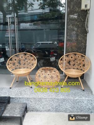 Bàn ghế đồng tiền, bàn ghế ban công