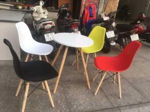 Bộ bàn ghế trà sữa nhiều màu sắc giá rẻ