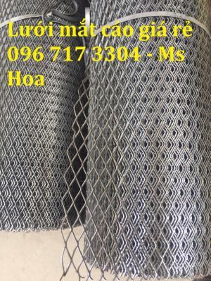 Lưới thép dập giãn dày 2mm mắt 20*40 chất lượng cao - Hàng có sẵn