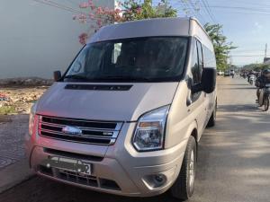 Ford Transit LUXURY 2017 GHI VÀNG xe chất-giá hợp lý.