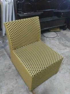 Ghế sofa nhựa giả mây