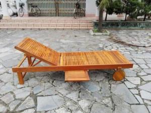 Giuong nằm thư giãn bằng gỗ