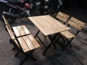 Bán bàn ghế gỗ xúp