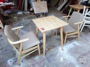Thanh lý bộ sản phẩm gỗ 1 bàn + 2 ghế giá rẻ,giao hàng toàn quốc