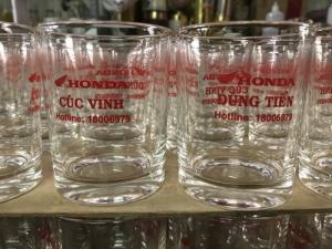 bán ly thủy tinh thái lan ug 350 giá rẽ - quà tặng tết cửa hàng honda