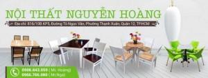 Nội thất Nguyễn Hoàng chuyên các mẫu bàn ghế cafe đẹp giá rẻ