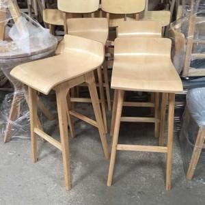 Các mẫu ghế có chân gỗ cao đẹp chất lượng