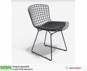 Bộ ghế sắt kỹ nghệ giá rẻ