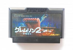 Game Famicom Gremlins 2 - Shinshu Tanjou