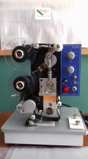 Máy in date bán tự động Hp 241B, máy in cuộn ruy băng