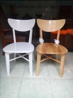 Bội đôi ghế gỗ có sơn PU