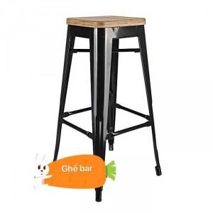 Ghế dành cho quán bar có chân trụ cao