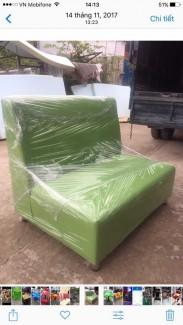 Ghế sofa màu xanh lá cây mới 100%