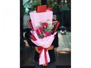 Hoa hồng giấy - Hoa handmade