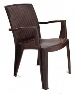 Ghế nhựa màu đen đẹp