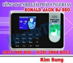 Máy chấm công vân tay giá rẻ rj550a, giá rẻ nhất