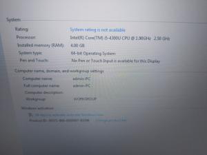 2018-11-19 18:25:08  2  Dell e5540 i5 4300u ssd 160gb 5,600,000