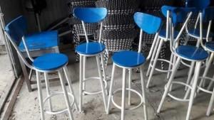 Ghế dành cho quán bar mặt tròn giá rẻ